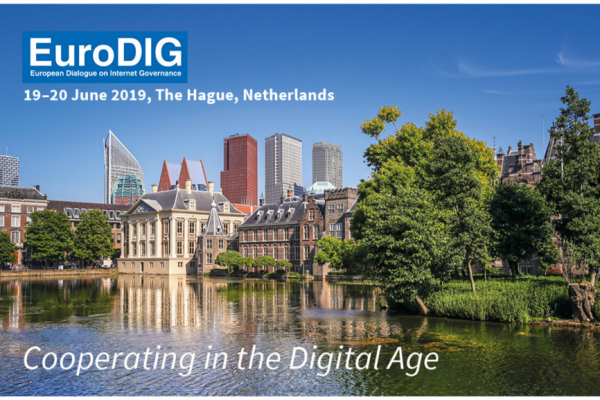 June 18-20 2019 EuroDIG, The Hague