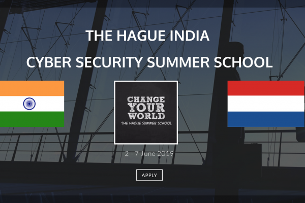 The Hague Indian Cyber Security Summer School